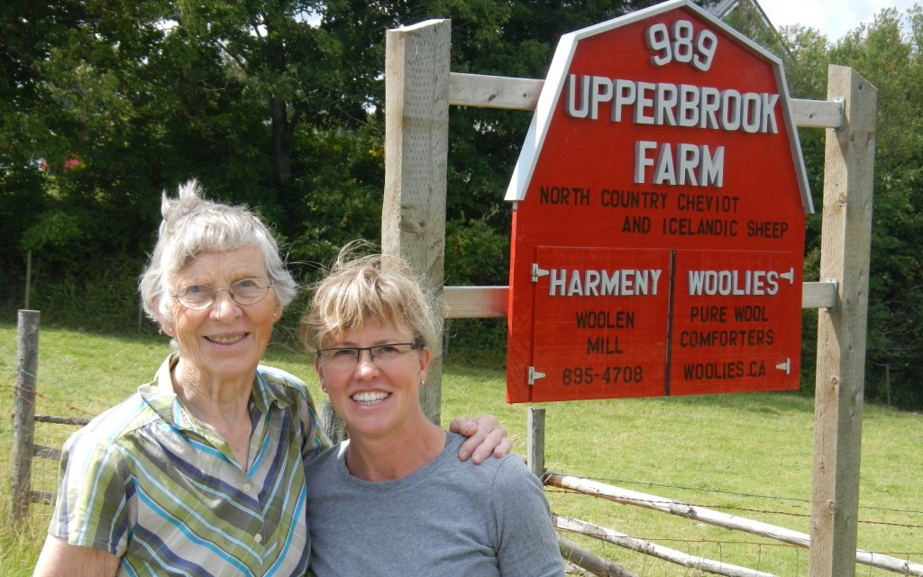 Upperbrook Farm: Look for the Sign!