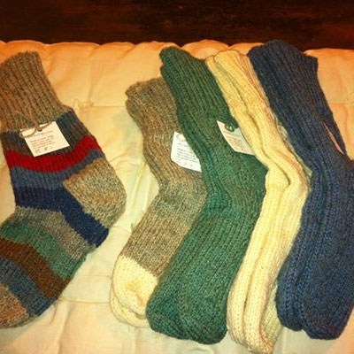 Upperbrook Farms: Woolie Socks